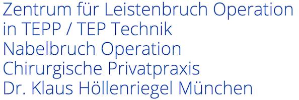 Zentrum für Leistenbruch Operation